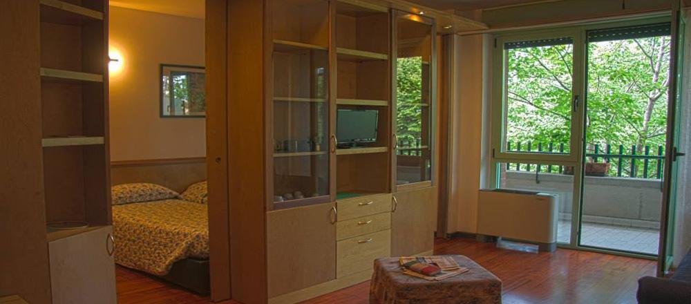 Residence domus verde lainate il residence vicino alla for Appartamenti arredati milano
